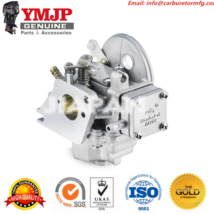 Outboard Carburetor Assembly for Yamaha 4HP 5HP 2 Stroke 6E3