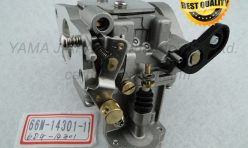 66M-14301-11-00,Sierra No.18-34600 Mallory 9-34600 Carburetor for Yamaha Outboards Fits F15 Four Stroke 2006 and newer