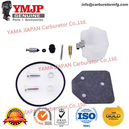67D-W0093-01-00 4-Stroke Carburetor Repair Kit fit for YAMAHA Outboard F4 (03~062008)