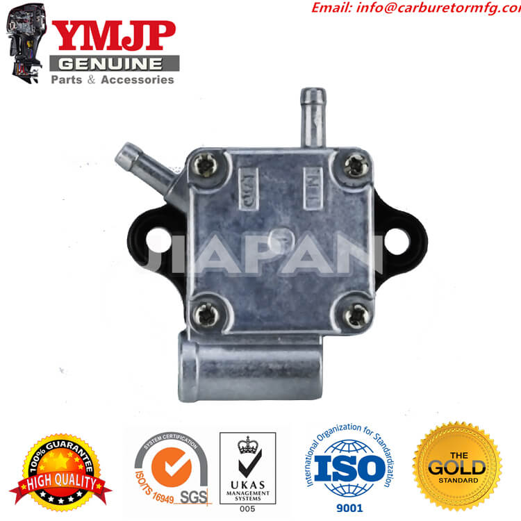 Block Pulse 2 Nipples Pulses thru Base 438556 New Johnson//Evinrude Fuel Pump