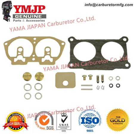 6E5-W0093-06-00 - Carburetor Repair Kit for YAMAHA 225 2.6L (92~95), P115 (93~96), P150, P175, P200 (92~95)