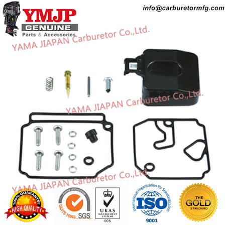6H1-W0093-10-00 Carburetor Kit for Yamaha 75, 90hp 1992-07 Yamaha 85, 90hp 1992-05