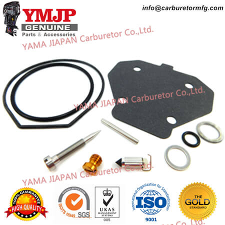61A-W0093-01-00 Carburetor Repair Kit fit for YAMAHA 225, 250 3.1L (90~96), S225, S250