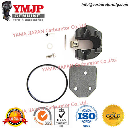 68T-W0093-00-00 4-Stroke Carburetor Repair Kit fit for YAMAHA F6, F8, T8 (~04/2006) For Outboard: Yamaha FT8, Yamaha F6, Yamaha F8 68TW00930000, 68T-W0093-00, 68TW009300, 68T W0093 00