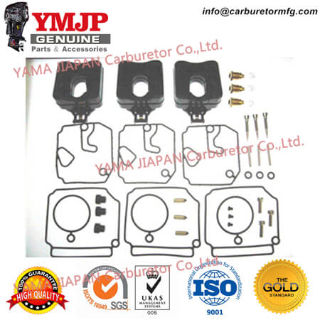 6H4-W0093-03-00 Carburetor Repair kits fit for YAMAHA Outboard Engine 40, 50, C50, Pro50 (89~), P40, P50, PR50, C40 Three Cyl